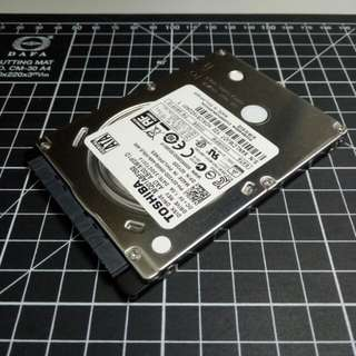 "TOSHIBA 2.5"" 500GB 5400rpm HDD for sale"