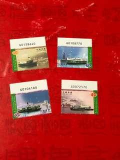 香港小輪郵票編號位