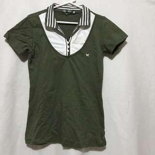 Green Poloshirt