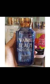 Bath and body works waikiki beach coconut