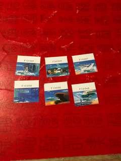 香港機場郵票編號位