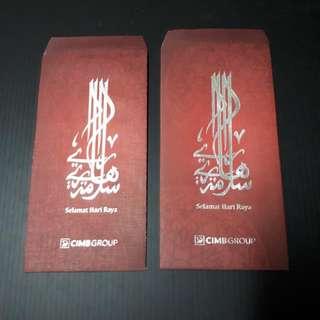Angpow Packet Sampul Duit Raya CIMB Bank