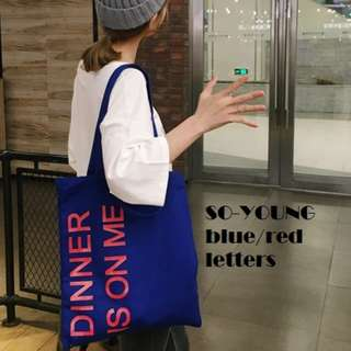 So-Young Canvas Tote Bag.