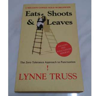 [Educational Book] Eats, Shoots & Leaves: The Zero Tolerance Approach to Punctuation