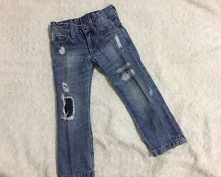 ZARA Ripped Jeans Kids