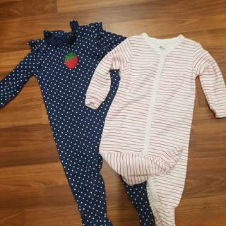 Baby Sleepsuits (NEW)