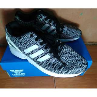 Adidas ZX Flux Knit (Black/White) ORI #IPB2018