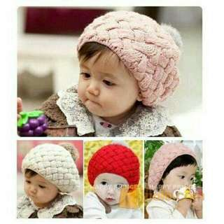 Korean baby hat
