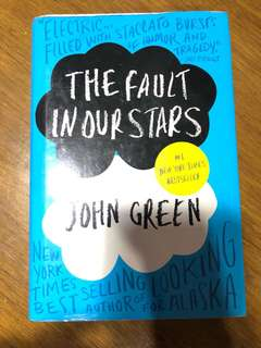 HARDBOUND The Fault In Our Stars by John Green