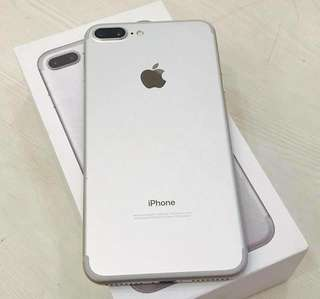iPhone 7 plus 32gb silver white factory unlock