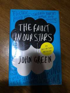 SEALED HARDBOUND The Fault in Our Stars by John Green