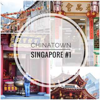 Printed Photographs Photocards Set (Chinatown Singapore #1)