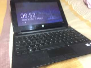 Hp amd dualcore netbook laptop