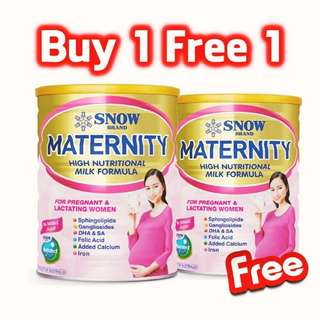 Snow brand matenity milk powder