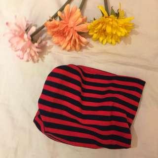 紅橫紋頸套