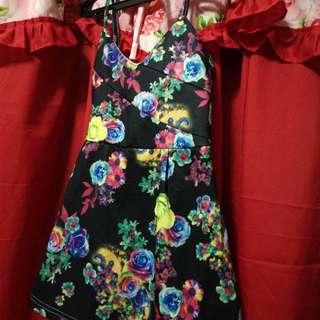 Romper Mini Dress