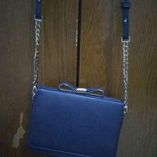 Ribbon Sling Bag