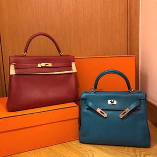 Hermes Kelly 32 & 28