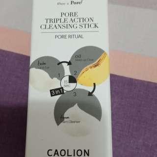 Caption pore triple action cleansing stick