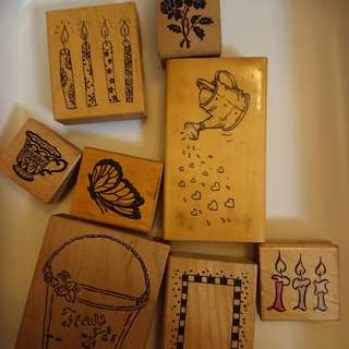 Rarely used PSX, Penny Black rubber stamps