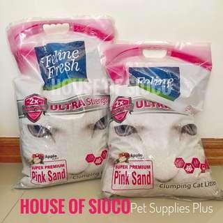 Feline Fresh Pink Sand Apple Scent 10L