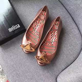 正品✨Vivienne Westwood x Melissa 土星女鞋