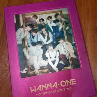 (WTS) WANNA ONE NOTHING WITHOUT YOU (ONE VER.)
