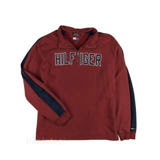 Vintage Tommy Hilfiger Jeans Sweatshirt 1/4 Zip XL