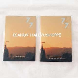 GOT7 7 for 7 Golden Hour Postcard book