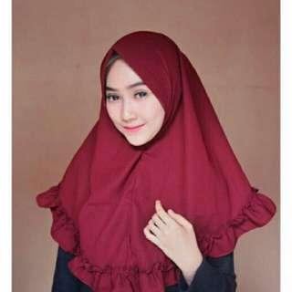 MURAH jilbab instan pet antem berkualitas