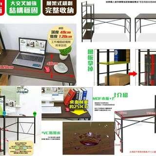 生意大師多層架四尺書桌