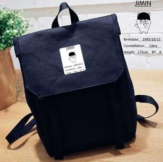 Kpop BTS Jimin Canvas Bag