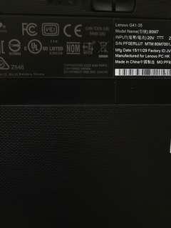 Lenovo 80m7 G41-35 文書 各方面 手提 手提電腦 notebook