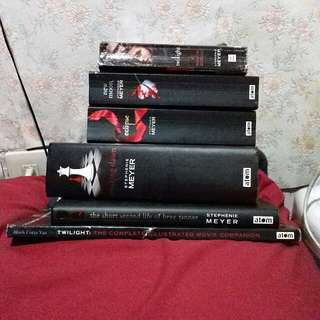Complete set of Twilight Saga
