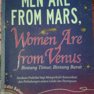 Men Are From Mars, Women Are From Venus Edisi Bahasa Melayu