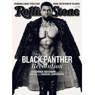 Rolling Stone Magazine Black Panther