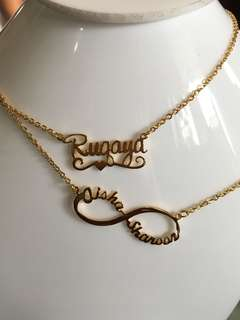 ~My name necklace.