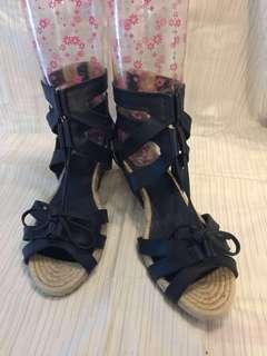 Jill Stuart 全新藍色涼鞋 24.5