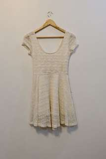 Forever 21 Lace Dress (see through back)