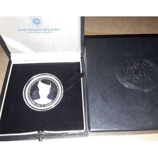 Malaysia Agong 2012 Silver Proof Coin 2012 Radar No.101