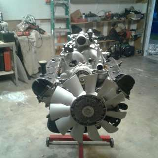 We have a brand new built rebuilt motor brand new no mileage we're asking 6000
