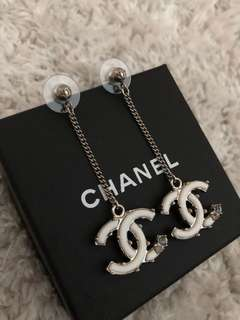 Chanel Logo Earrings *Must Have*