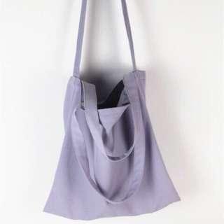 薰衣草紫 帆布包包