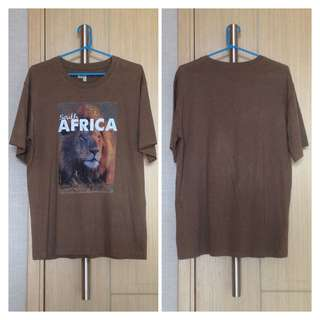 South Africa Lion Face T-Shirt