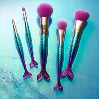 Limited edition: Tarte exclusive mermaid brush set