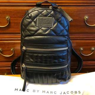 New! MARC BY MARC JACOBS Leather Backpack 真皮背包 背囊