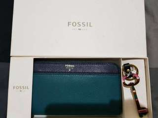Green&blue wallet