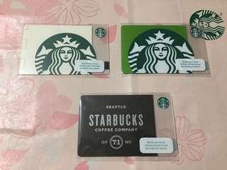🇸🇽 Starbucks PH cards Set of 3