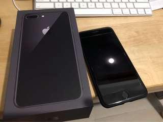 IPhone 8 Plus 64gb 黑色 (想換Iphone 7 Plus 128/256gb)