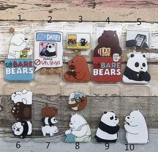 We Bare Bears Soft Phone Case